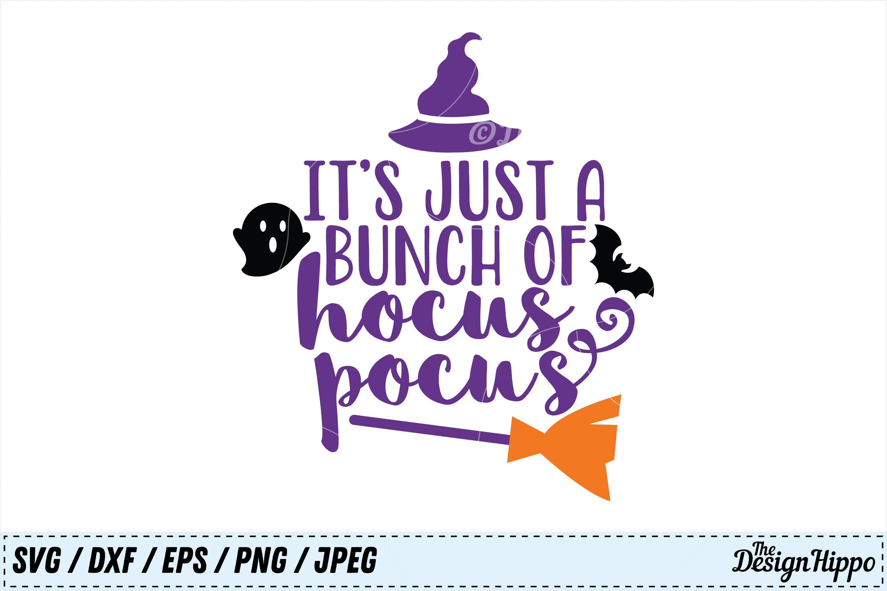 696353d9 Hocus Pocus SVG, Its Just a Bunch of Hocus Pocus SVG DXF PNG example image
