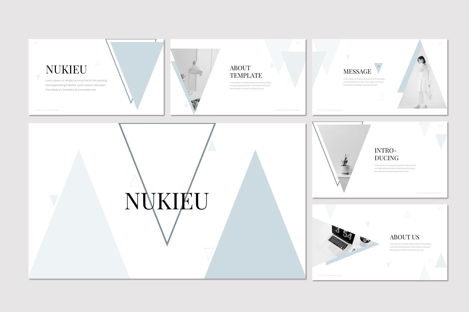 Nukie - Keynote Template example image 2