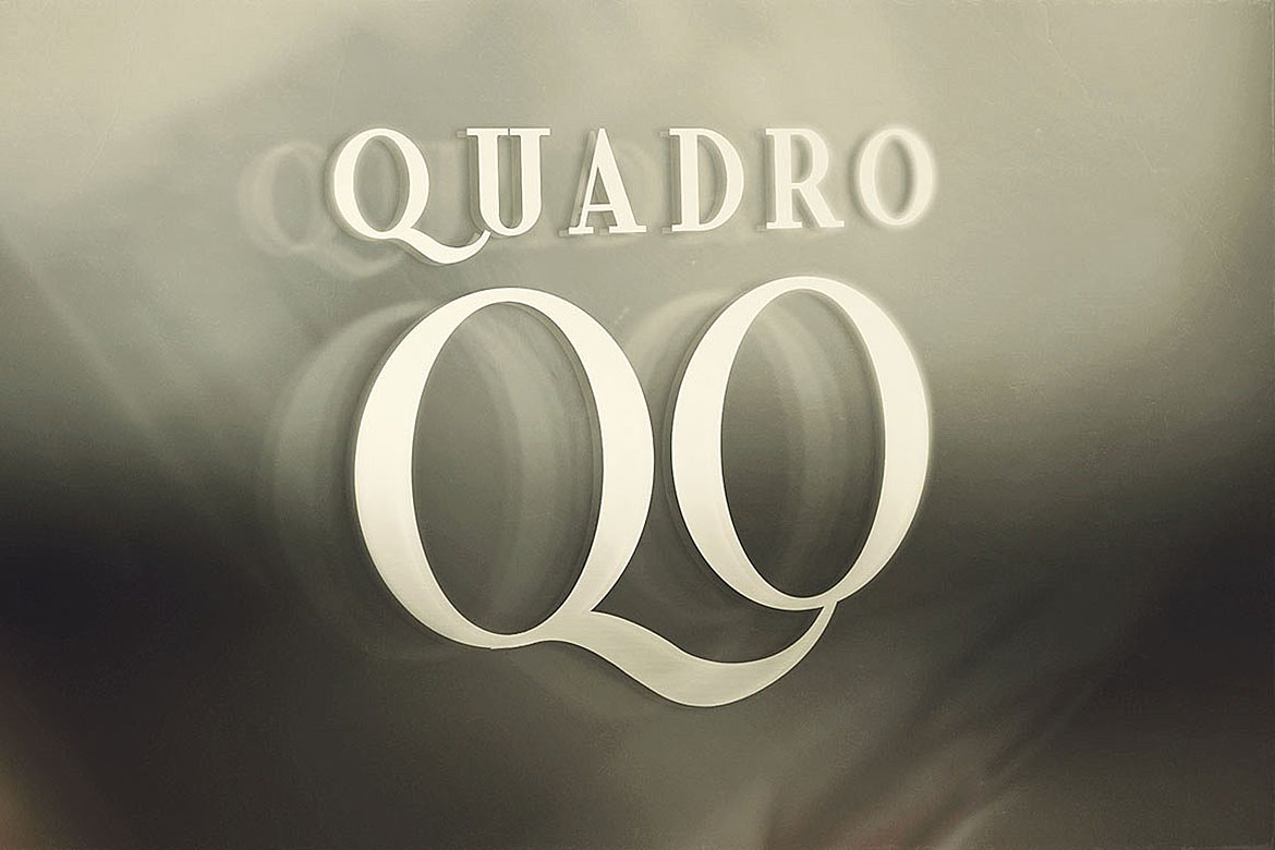 Quadro - Display Font example image 7