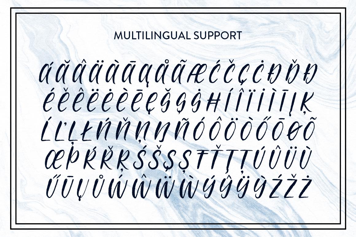 Molokini Brush Script example image 4