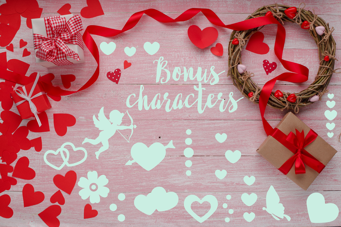 Crazy Love: A Valentine Edition Font example image 2