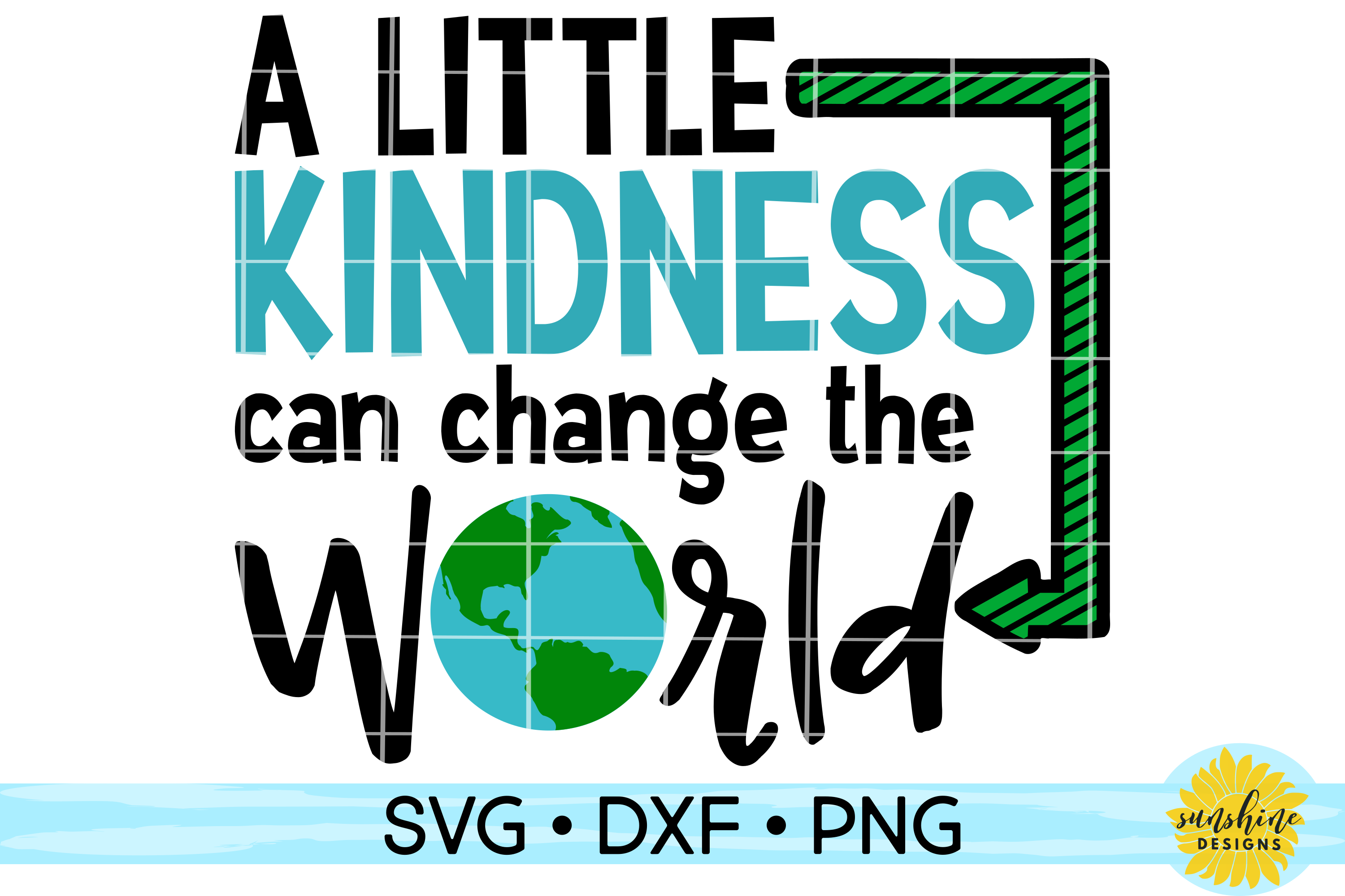 KINDNESS BUNDLE | ANTI-BULLYING | 15 DESIGNS | SVG DXF PNG example image 3