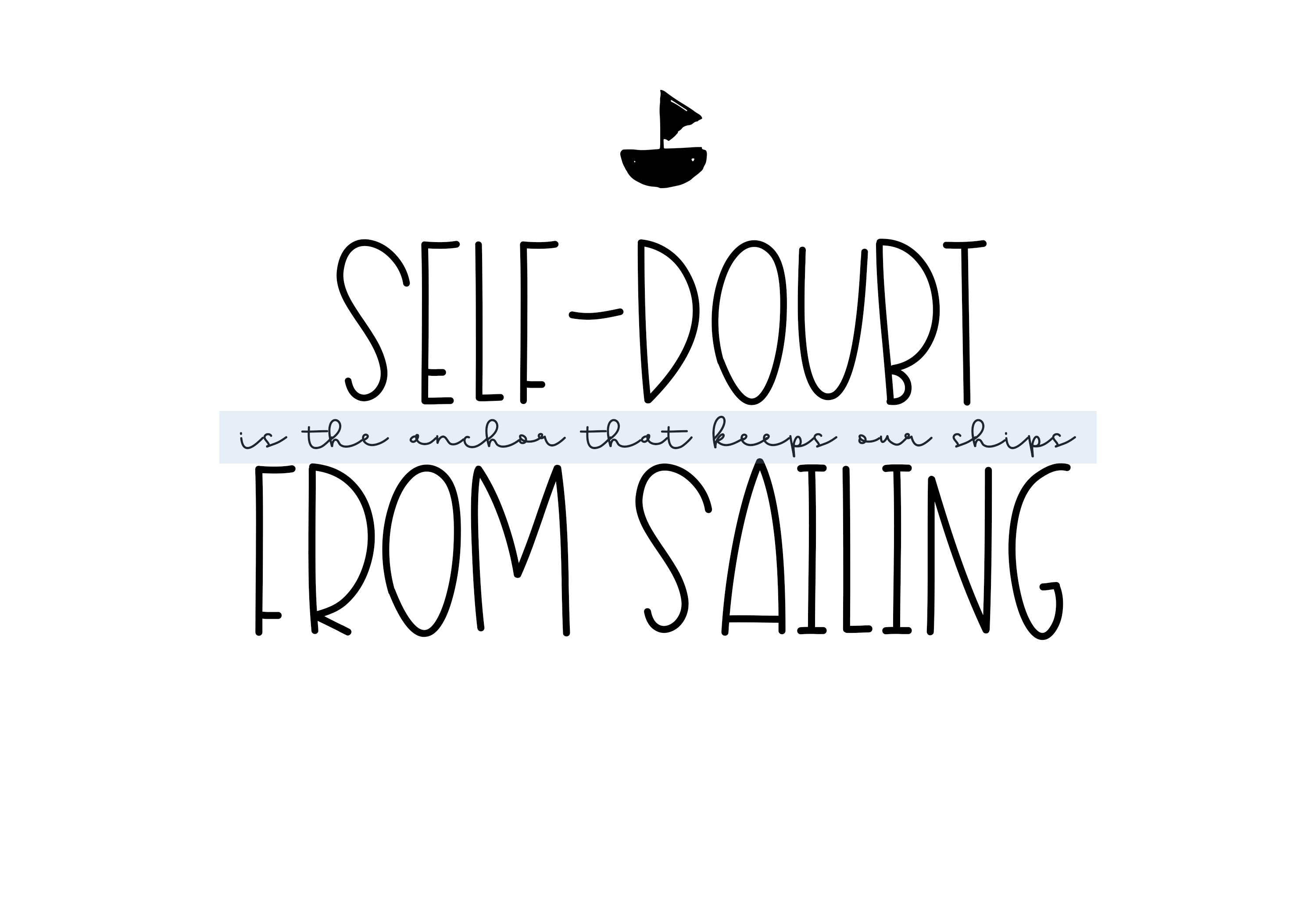 Sailboat - A Fun Handwritten Font example image 4