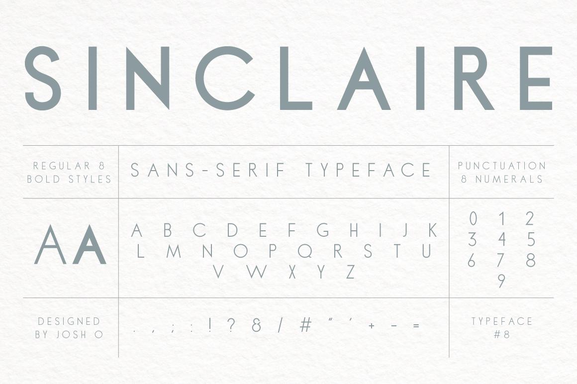 Sinclaire | A Classic Sans Serif example image 5