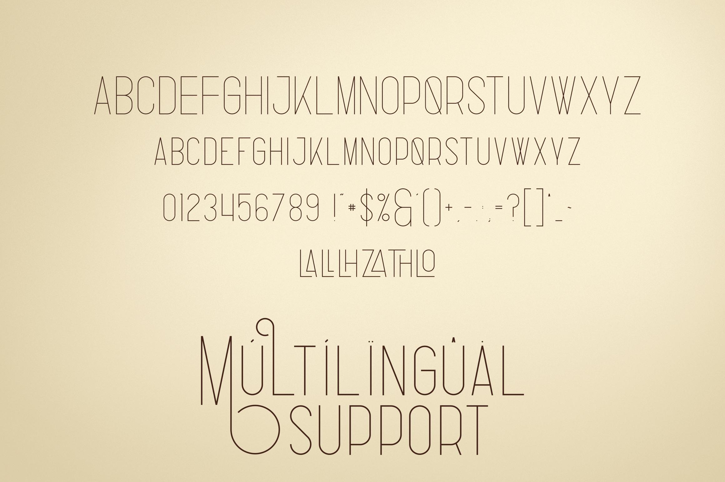Fabulist - Display font example image 6