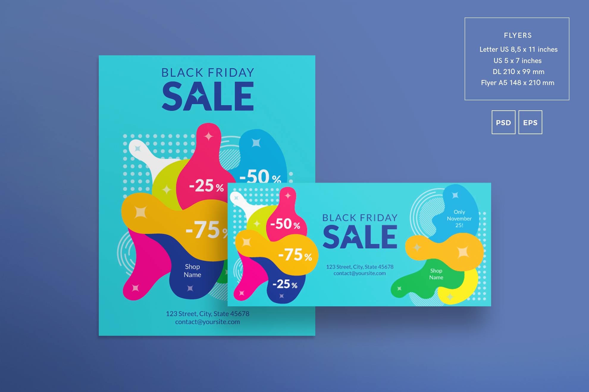 Black Friday Sale Design Templates Bundle example image 2