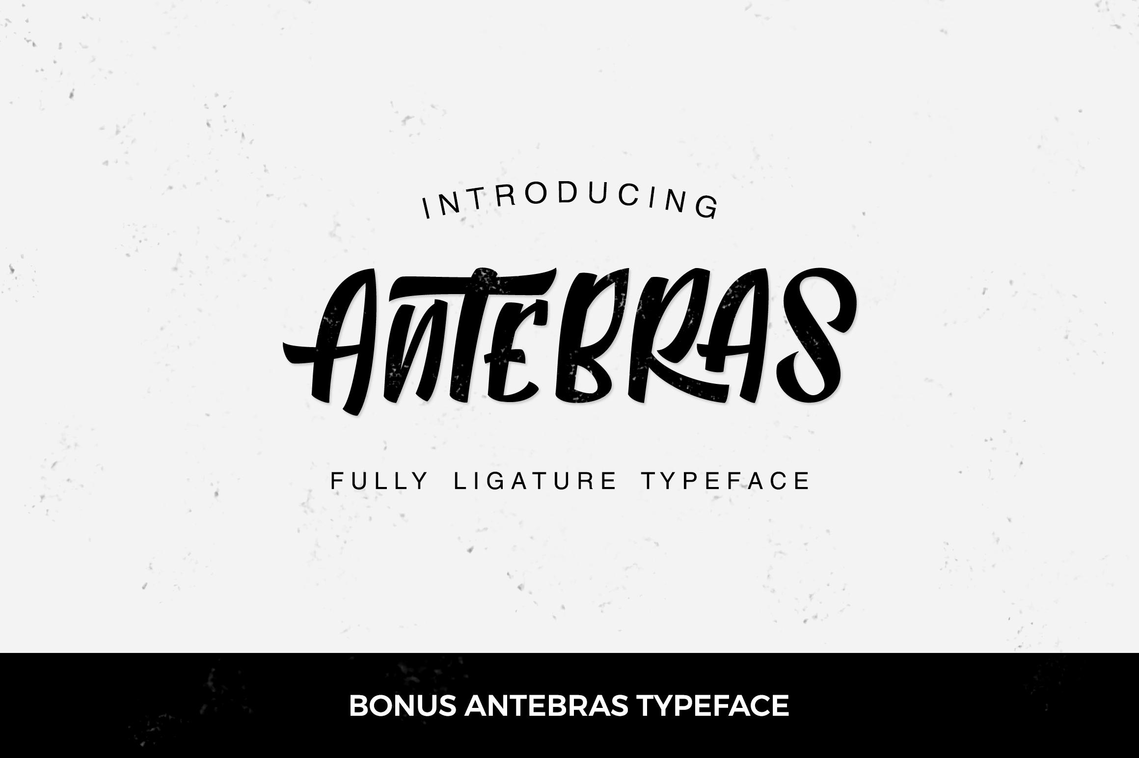 Zephan + Antebras Typeface example image 7