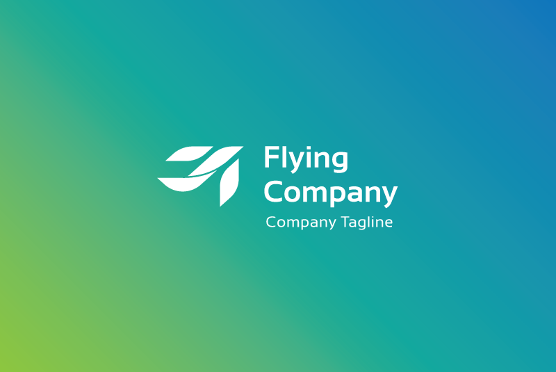 Flying Company Logo example image 2