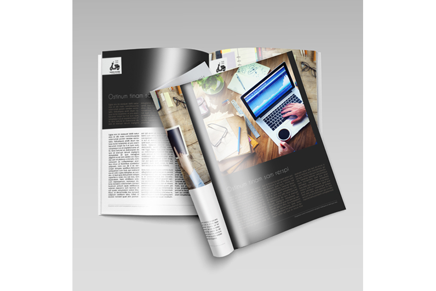 Business Magazine Template example image 3
