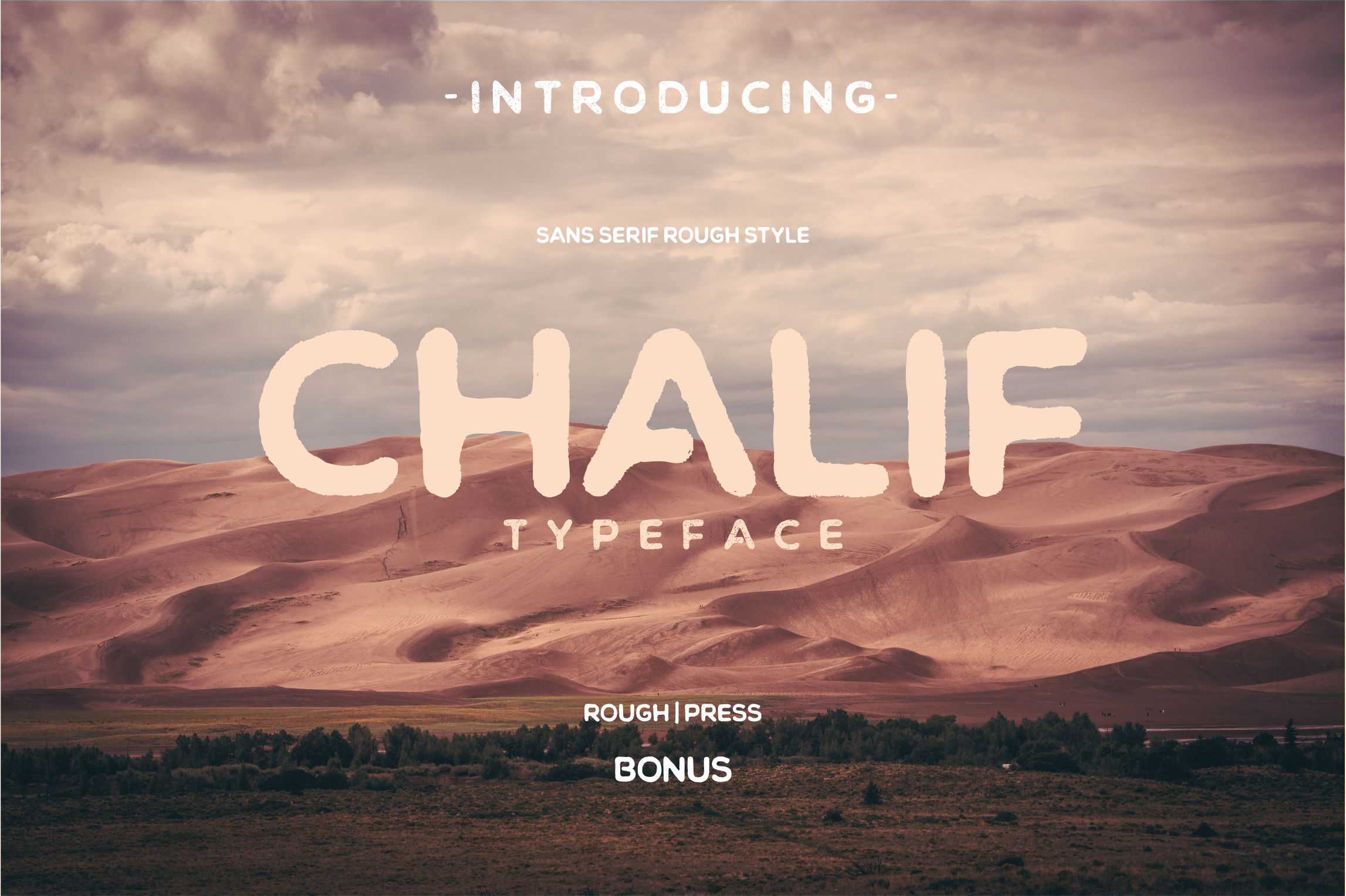 Chalif Typeface example image 1
