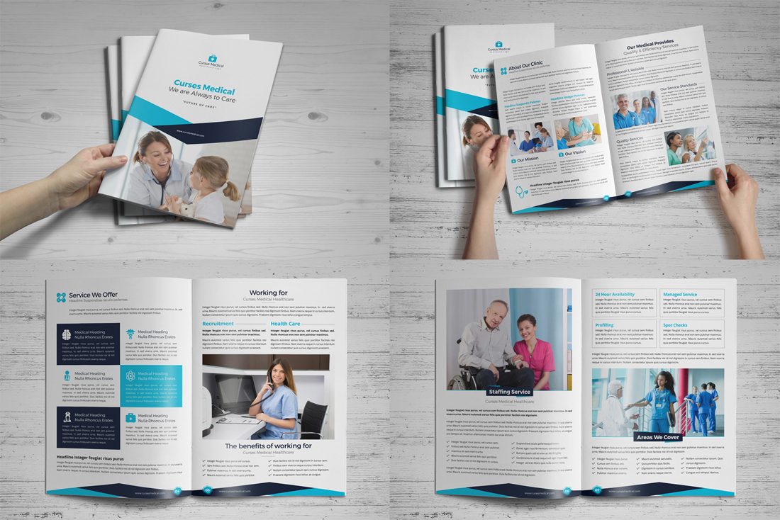 Medical HealthCare Brochure Bundle example image 2
