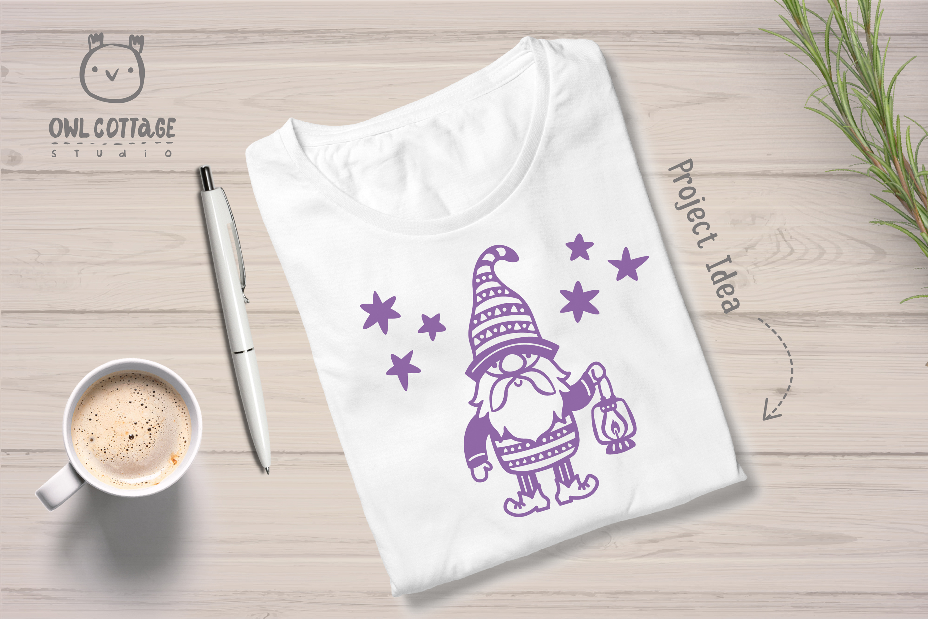 Scandinavian Gnomes SVG, Gnome Clipart, Tomte example image 9