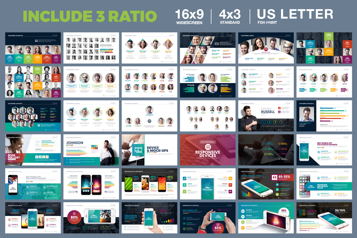 PowerPoint Presentation Template example image 4