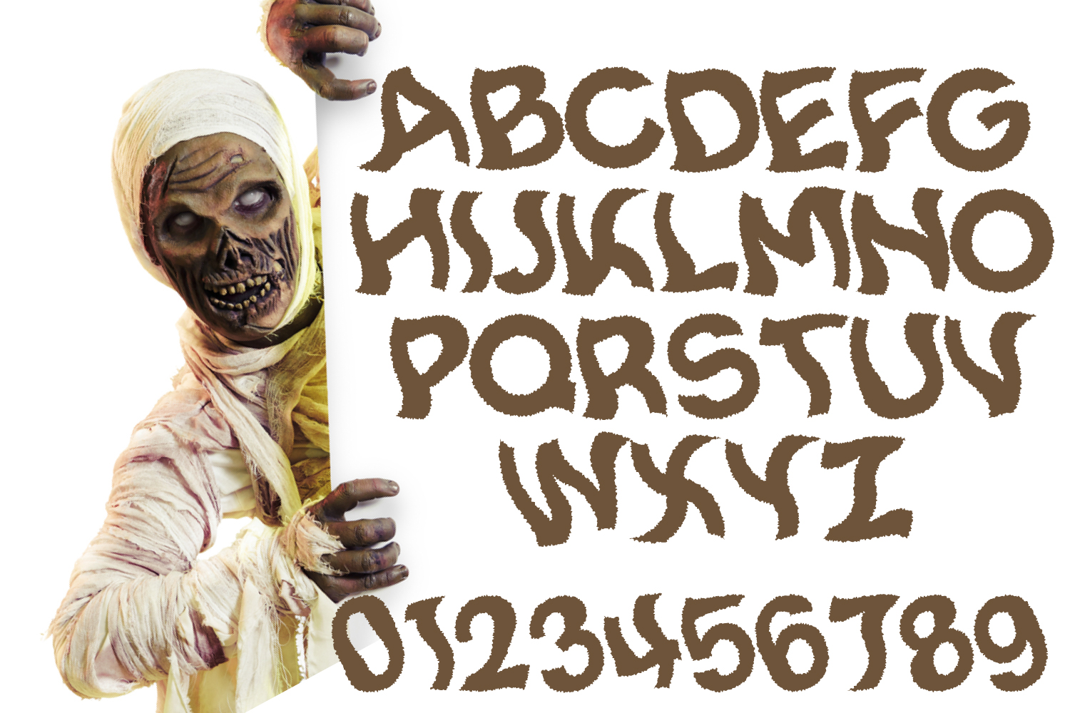 Spooky Smoke - Halloween & Twisted Font example image 4