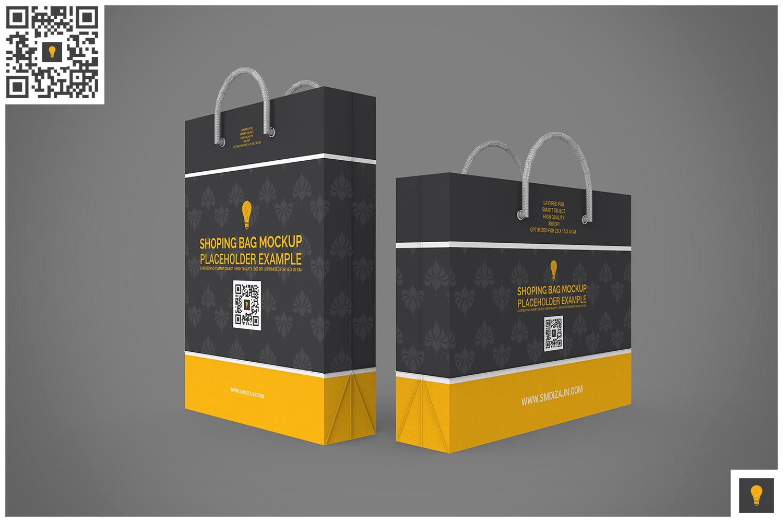 Shopping Bag Mock-up example image 3