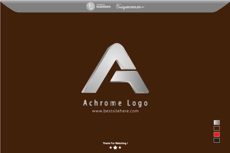 Achrome Logo Concept example image 4