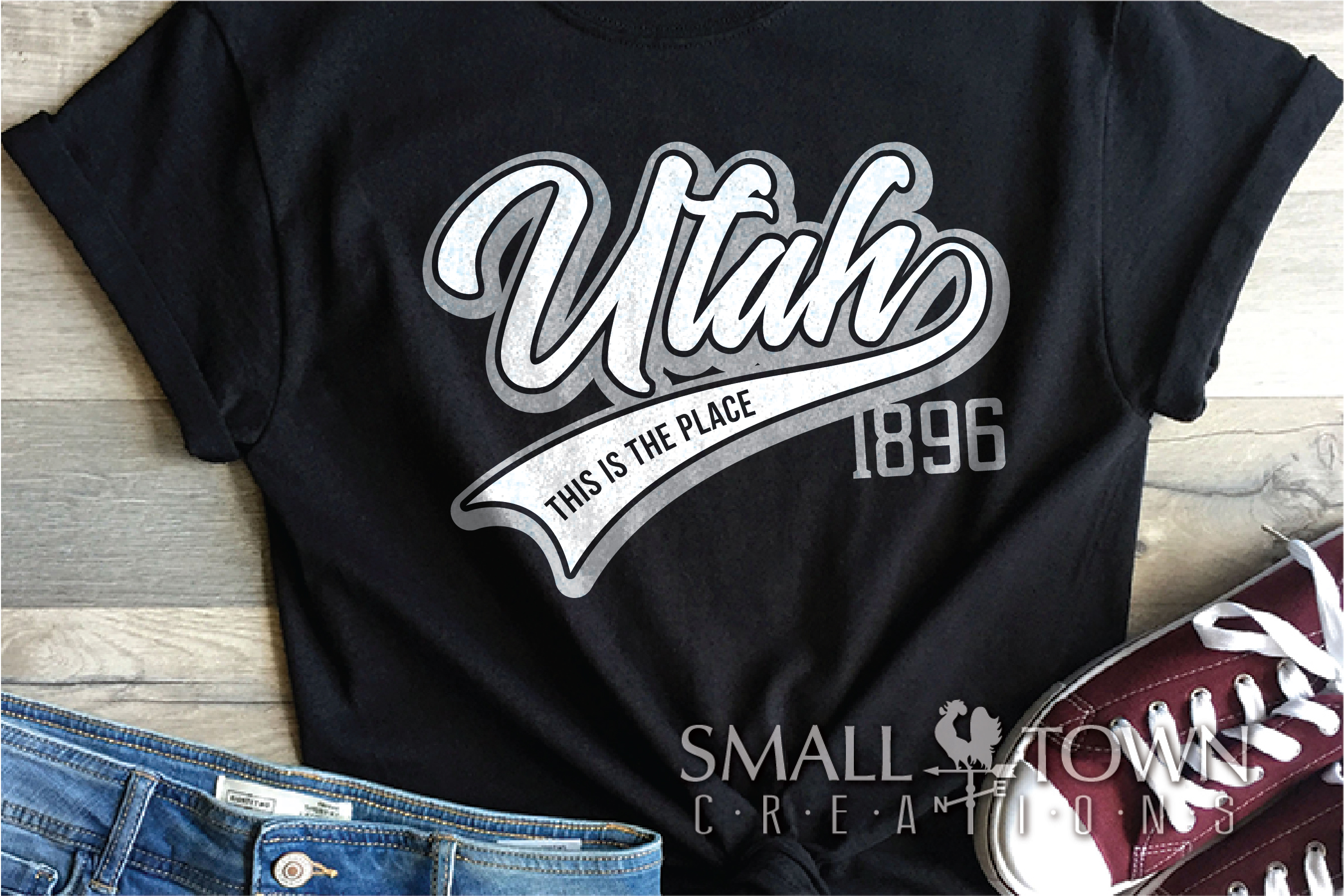 Utah,This is the Place - slogan, PRINT, CUT & DESIGN example image 2