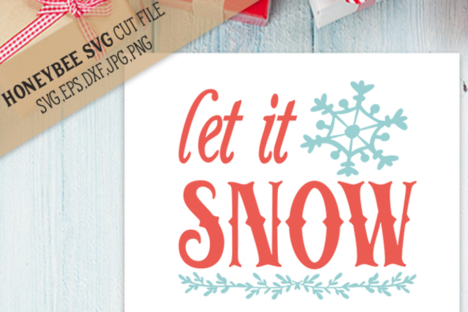 Let it Snow svg example image 1