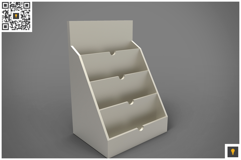 Business Card Holder 3D Render example image 3