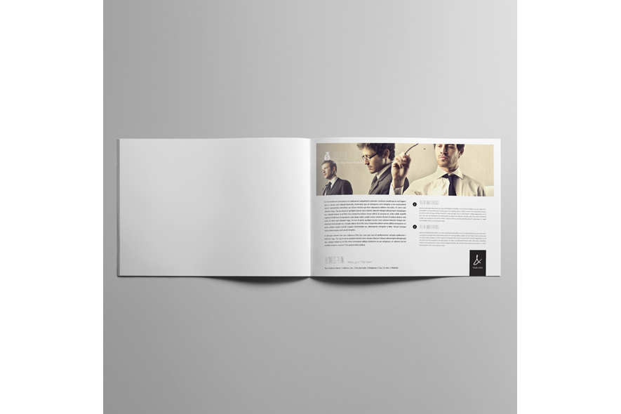 53 Pages Full Business Plan Template - A4 Landscape example image 4