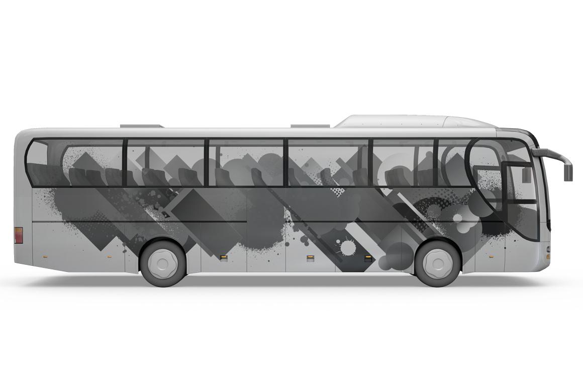 Bus Mockup example image 8