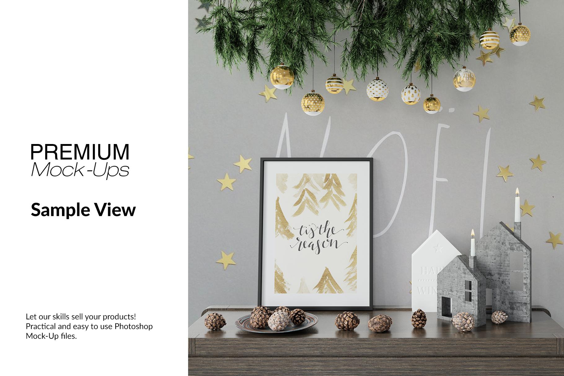 Christmas Frames & Wall Set example image 6