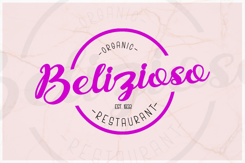 Bonjour Allgera - Font Duo example image 2