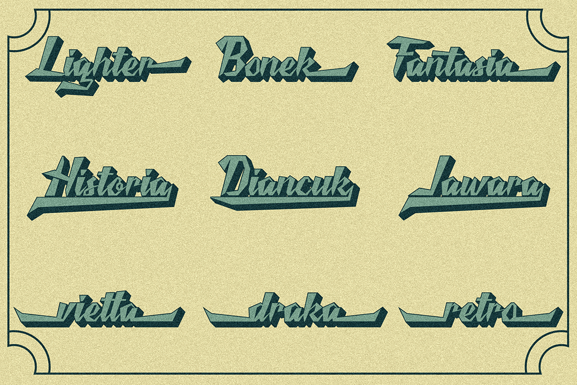 Victories Vintage Font example image 5