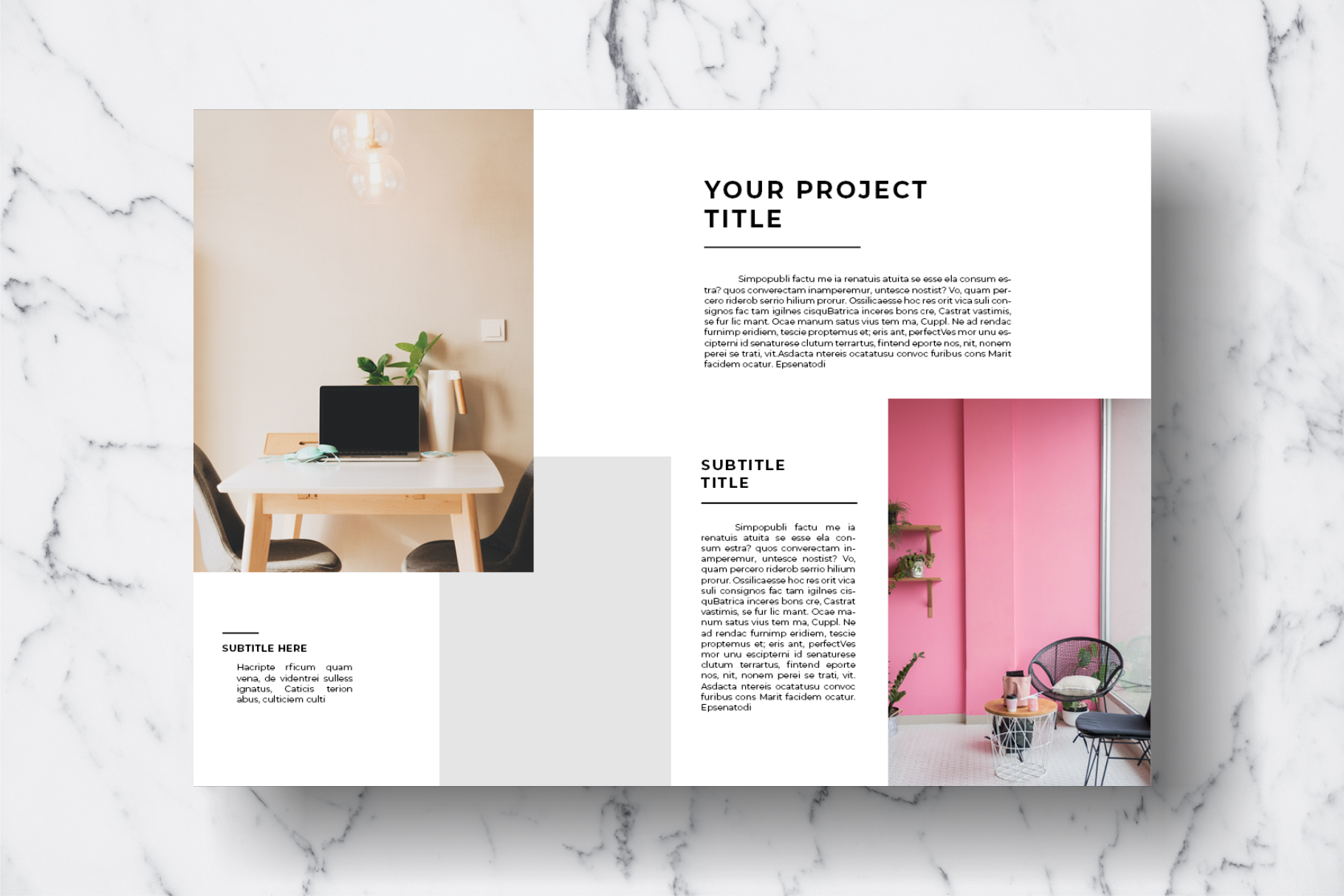 Magazine Template Vol. 11 example image 7