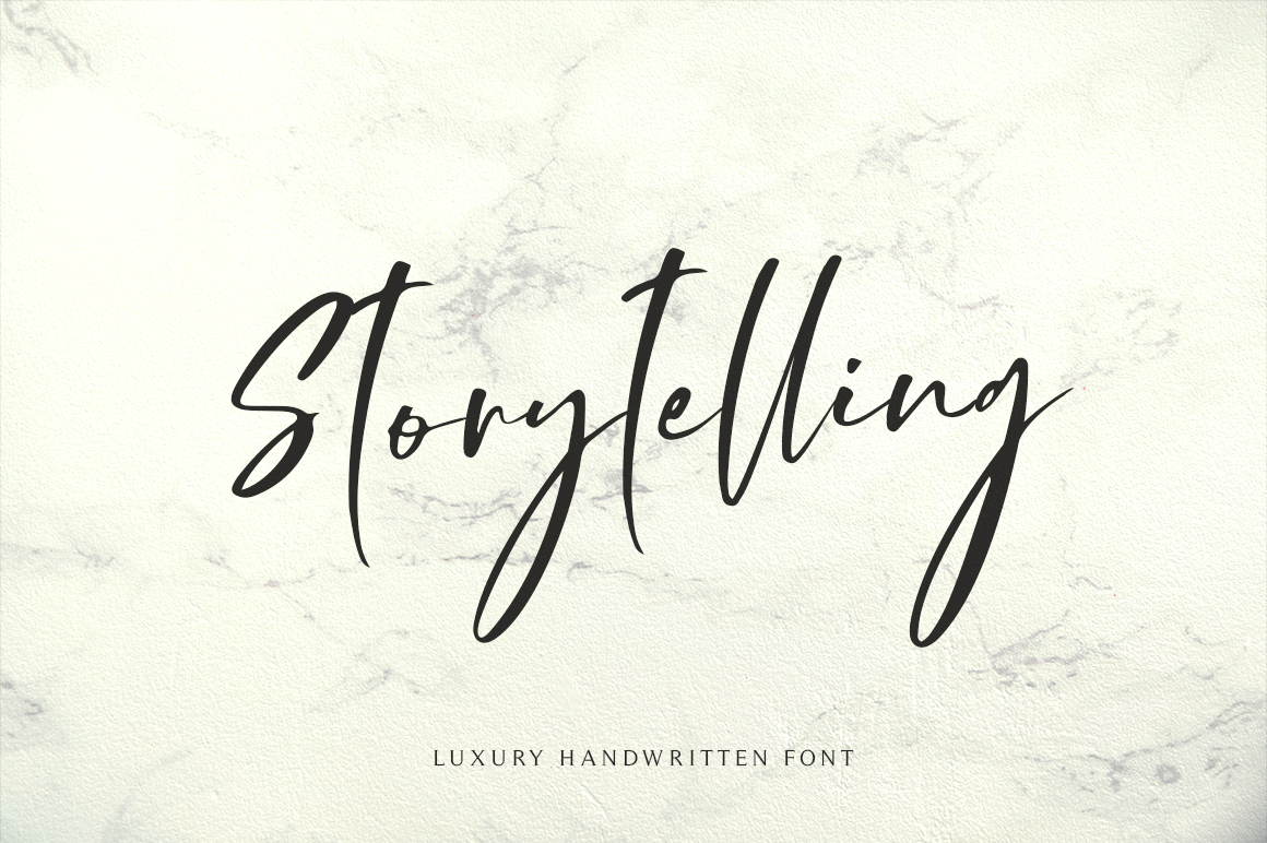 Storytelling - Modern Calligraphy example image 1