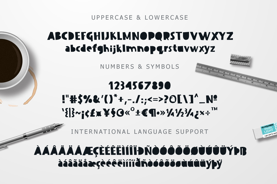 Dissentio Typeface example image 3
