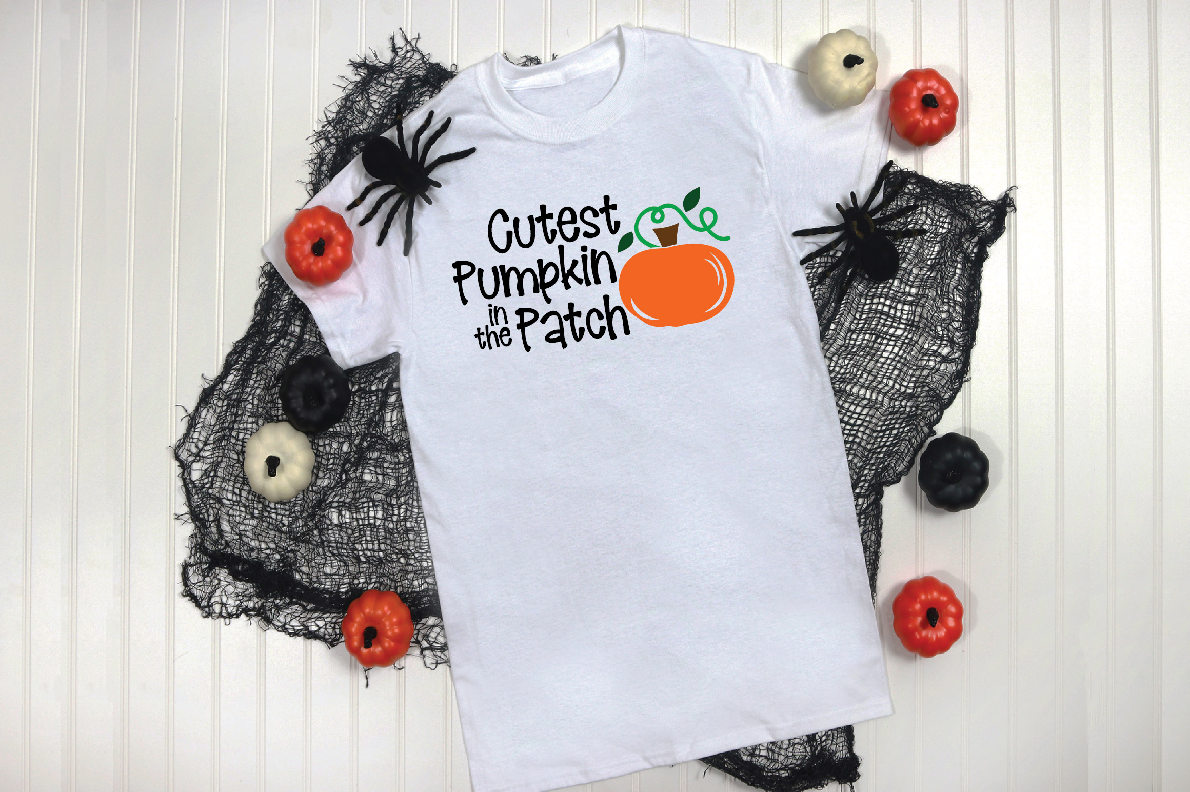 Cutest Pumpkin in the Patch SVG Cut File - Fall Pumpkin SVG example image 4