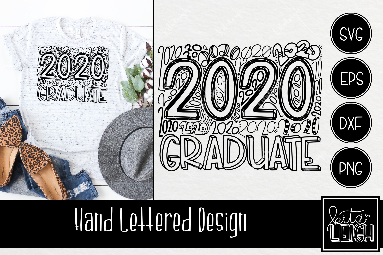 2020 Graduate Typography example image 1