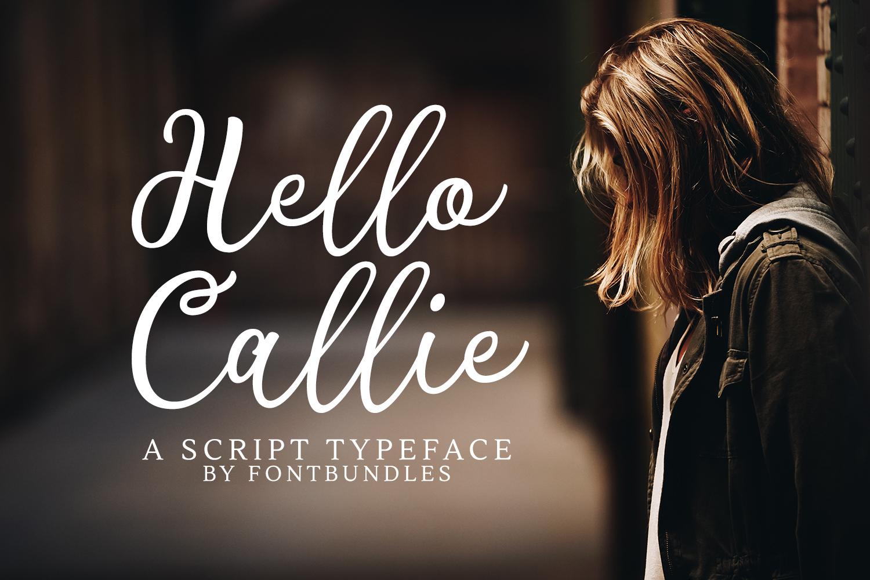 Hello Callie example image 1