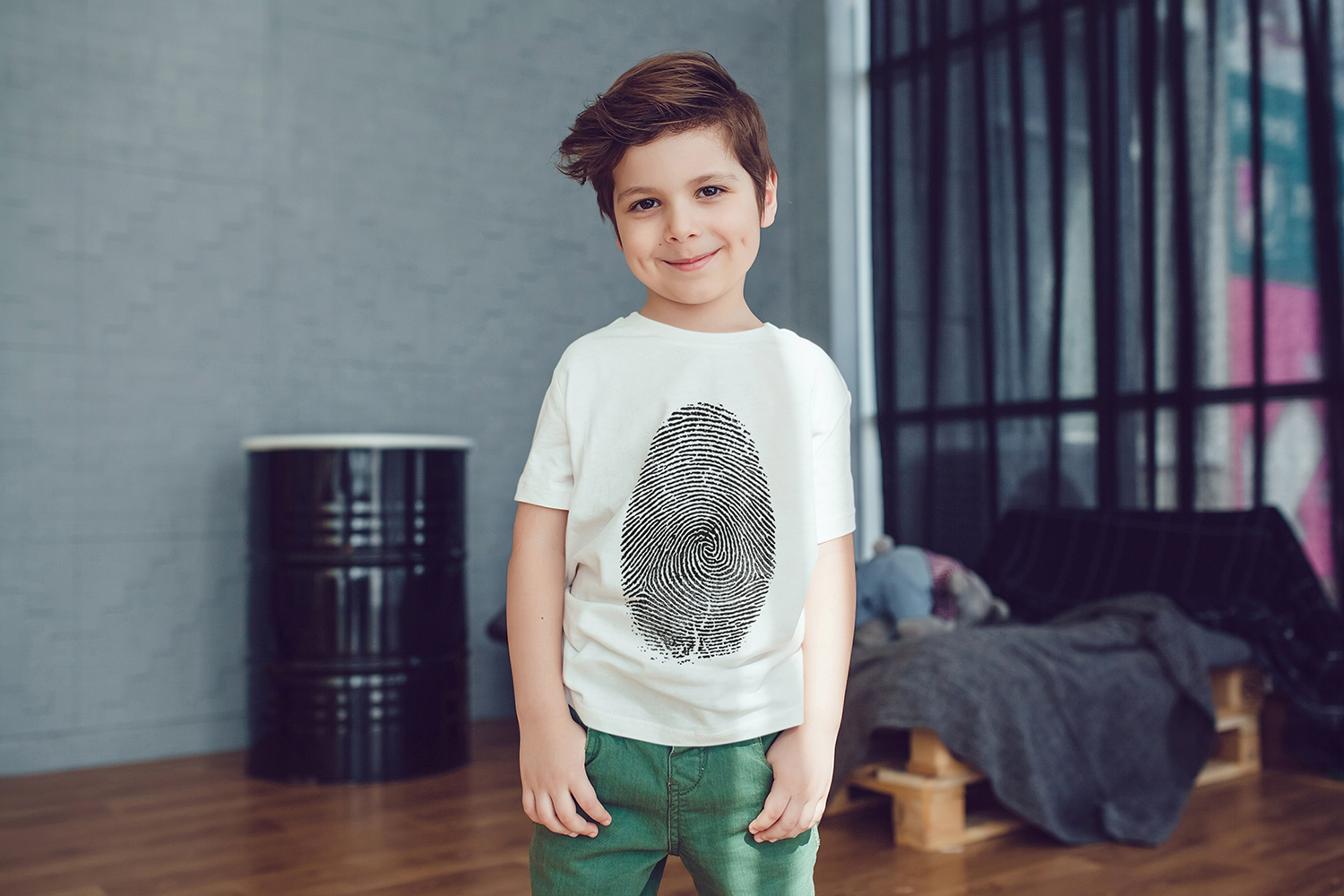 Kids T-Shirt Mock-Up Vol.2 2017 example image 8