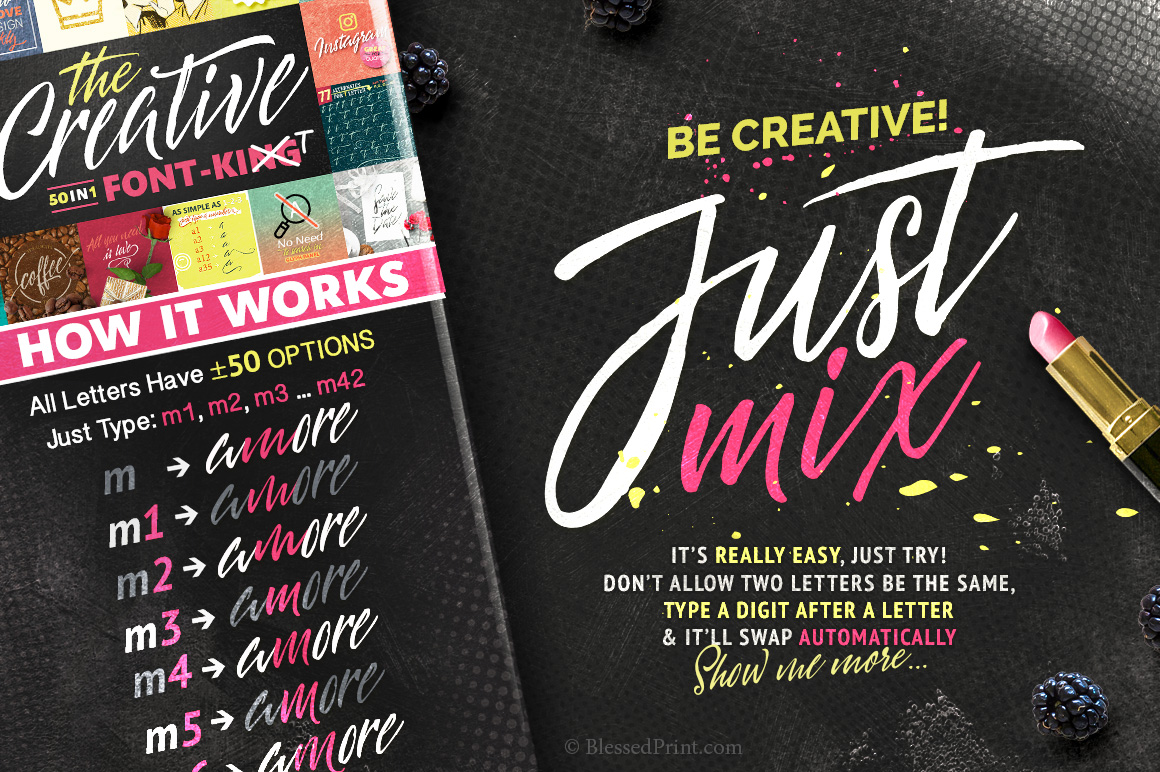 The Creative Font-Kit example image 3