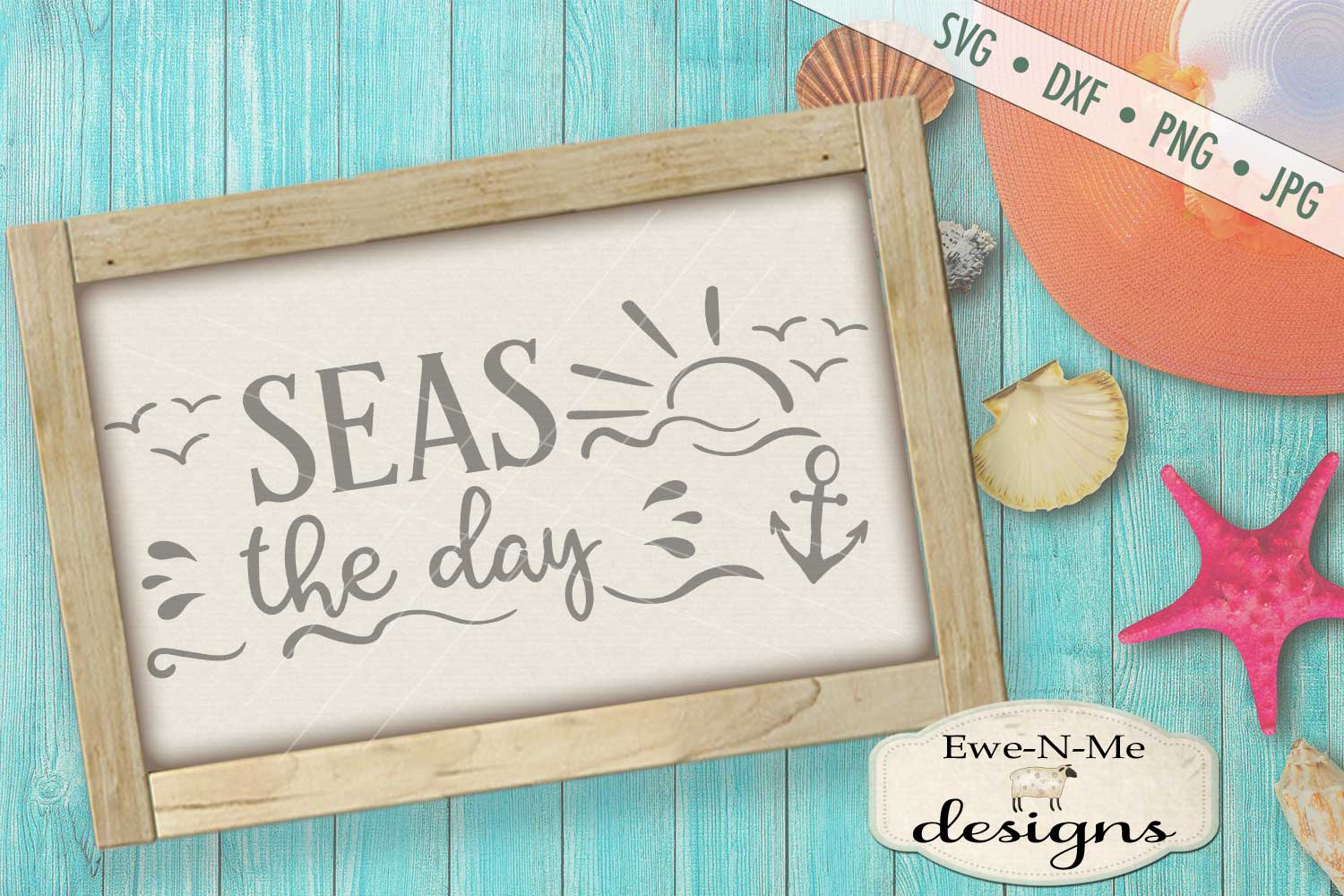 Seas The Day SVG DXF Files example image 1