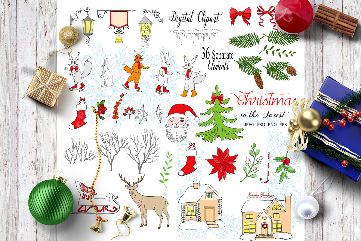 Christmas in the Forest example image 3