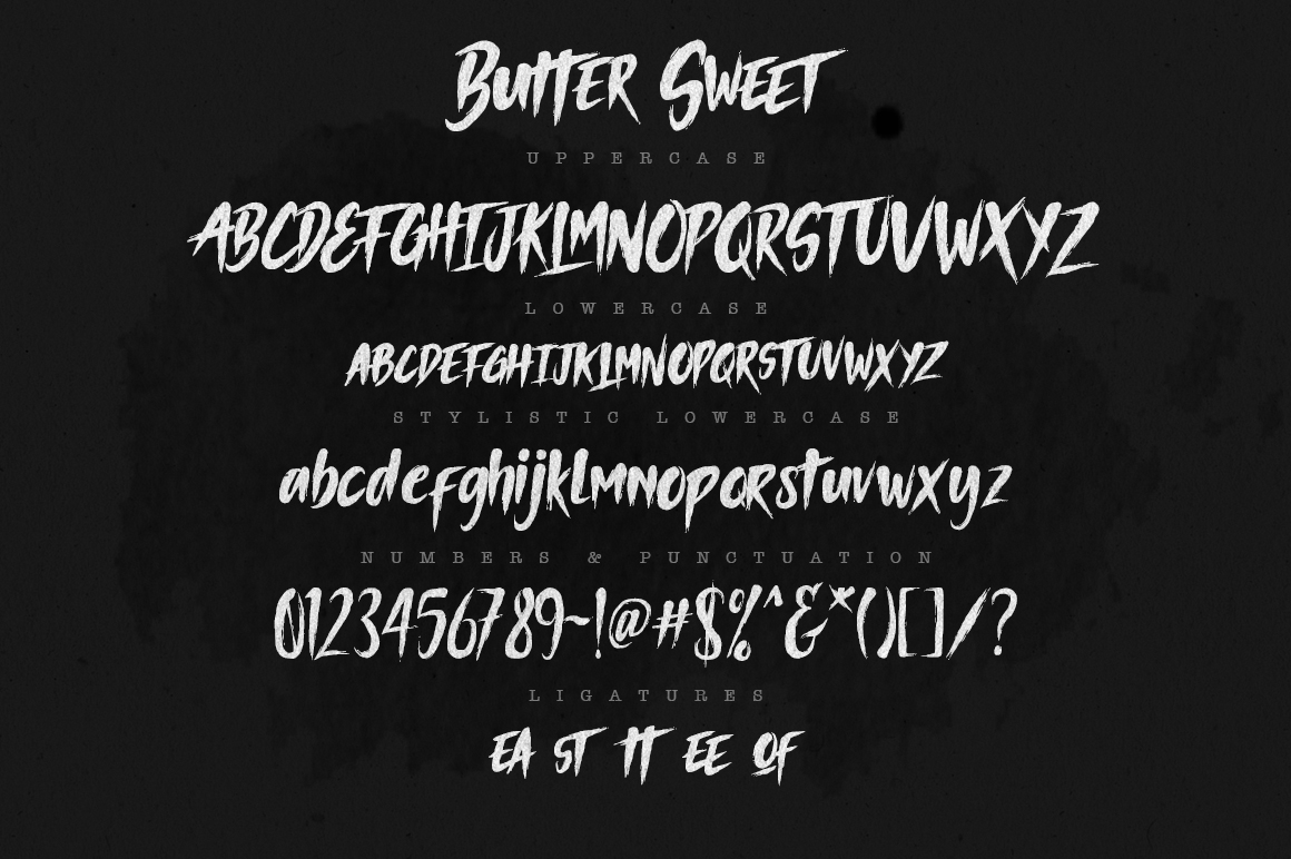 Butter Sweet Typeface example image 4
