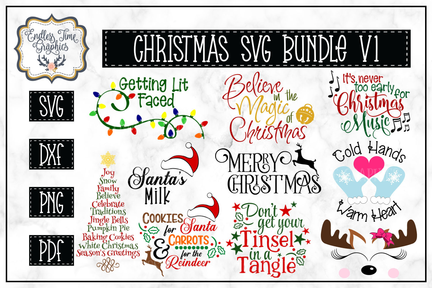 The Ridiculously Huge Bundle SALE - A Massive SVG Collection example image 3