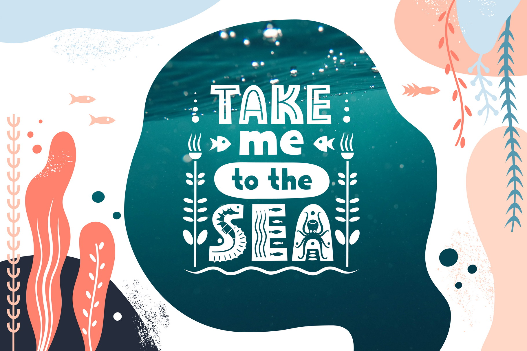 Sealife Font Family example image 2