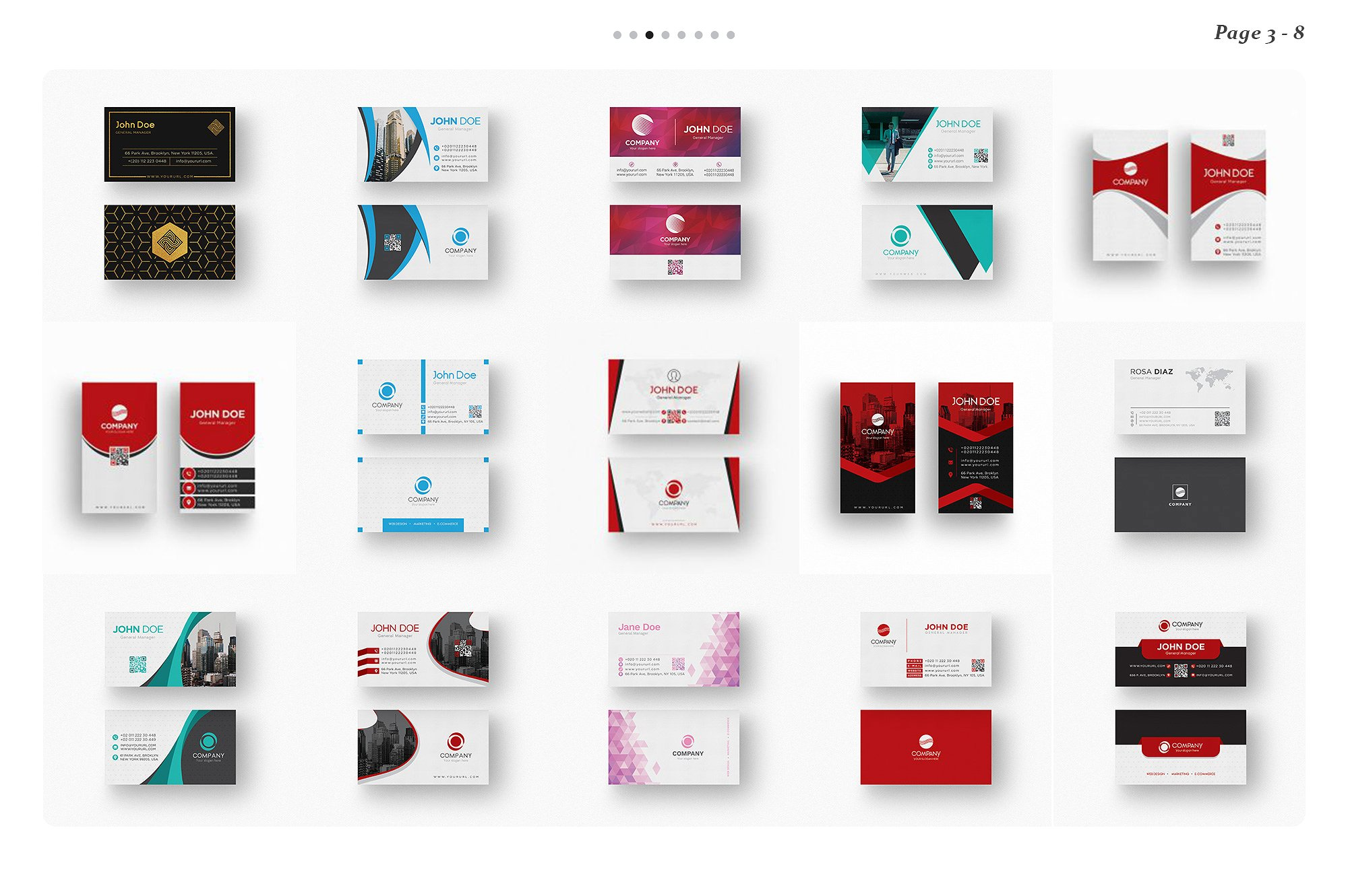 120 Business Card Bundle example image 10