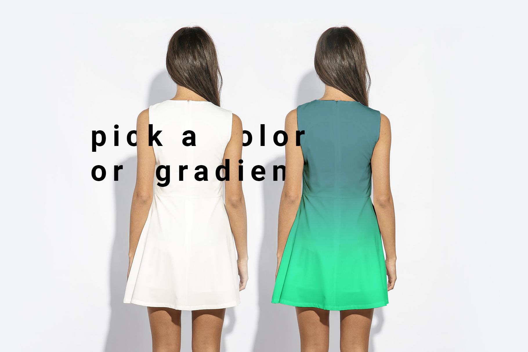 Woman's Dress Mockup Set example image 3
