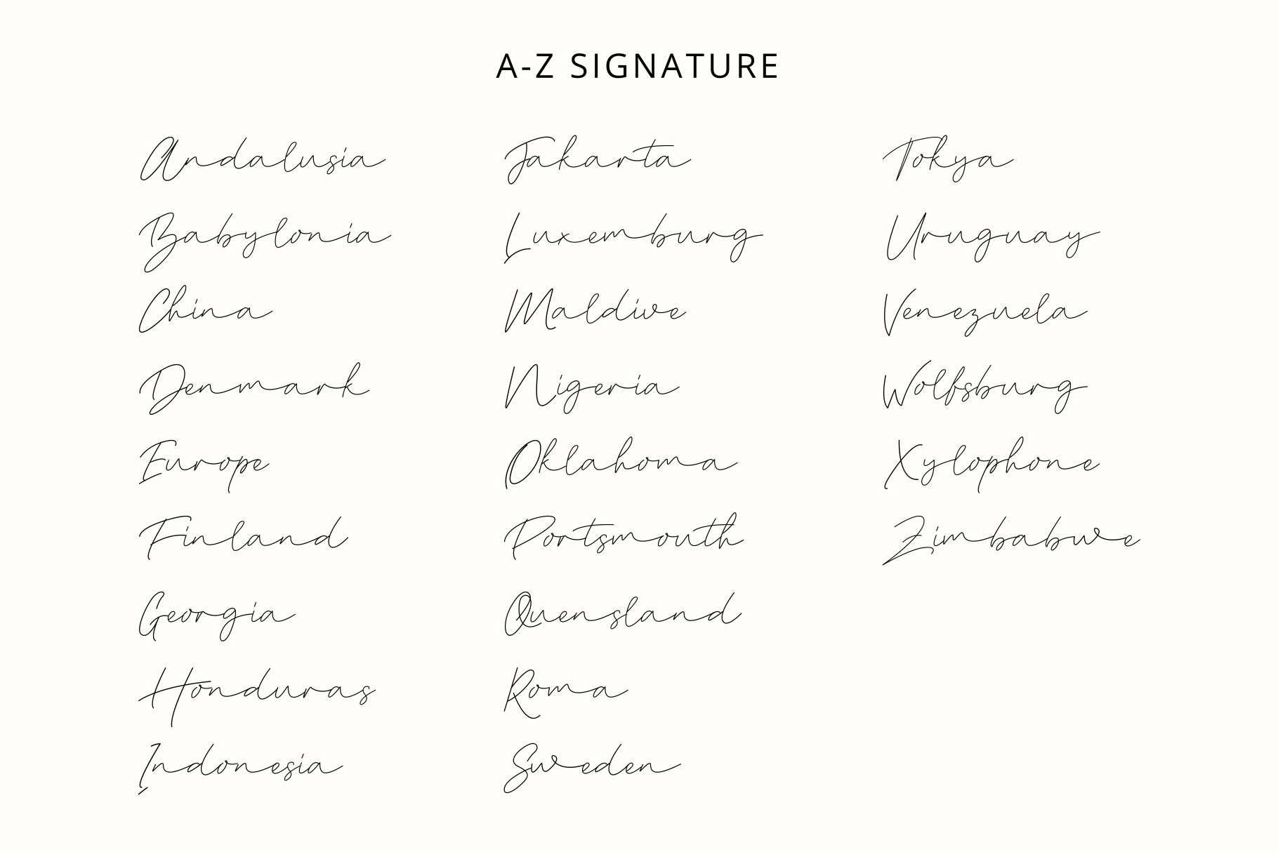 Syalatan - The Handwritten Signature example image 7