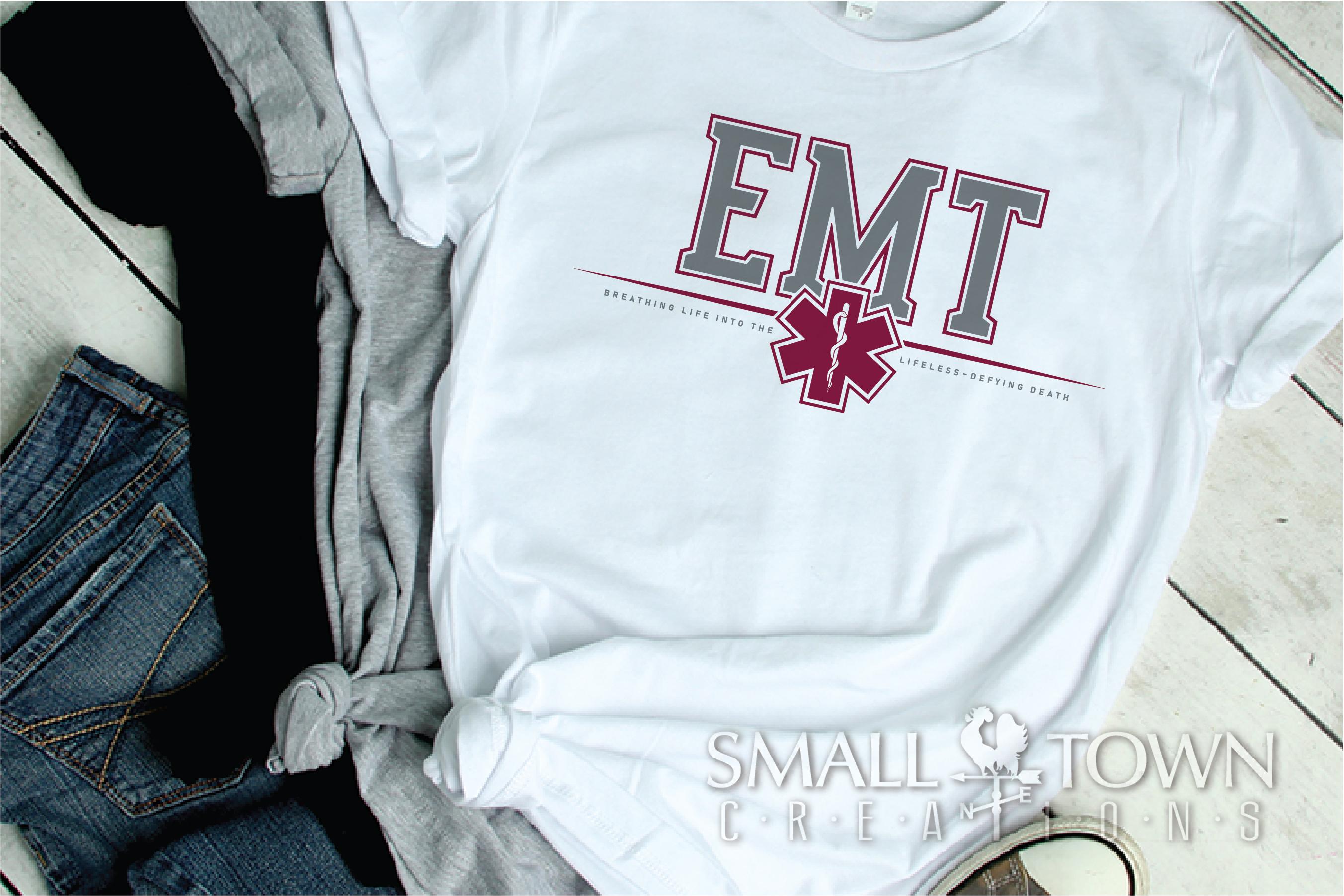 EMT, Emergency Medcial Technician, Logo, PRINT, CUT & DESIGN example image 2