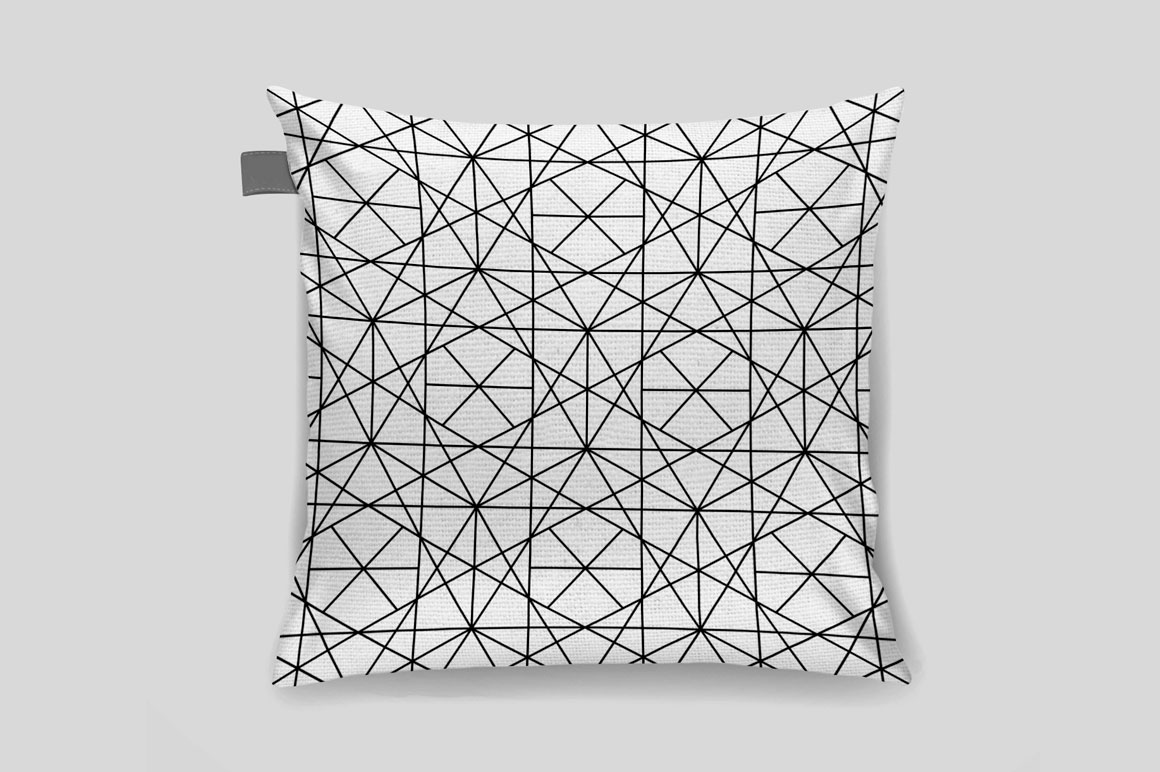 Vector seamless geometric patterns example image 7