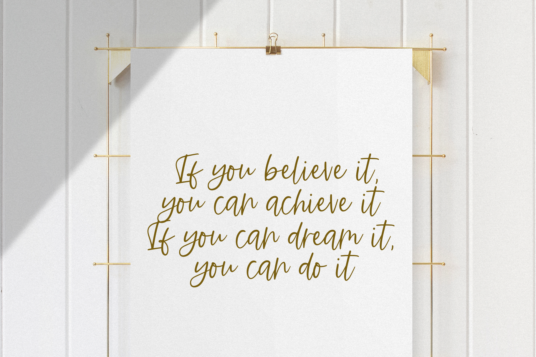 Ambition - A Handwritten Script Font example image 7