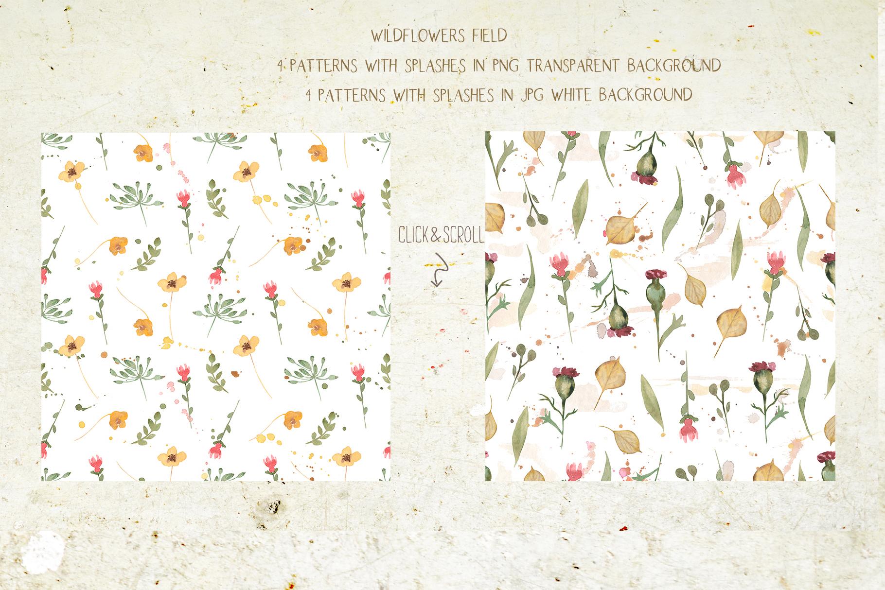 Wildflowers field example image 9
