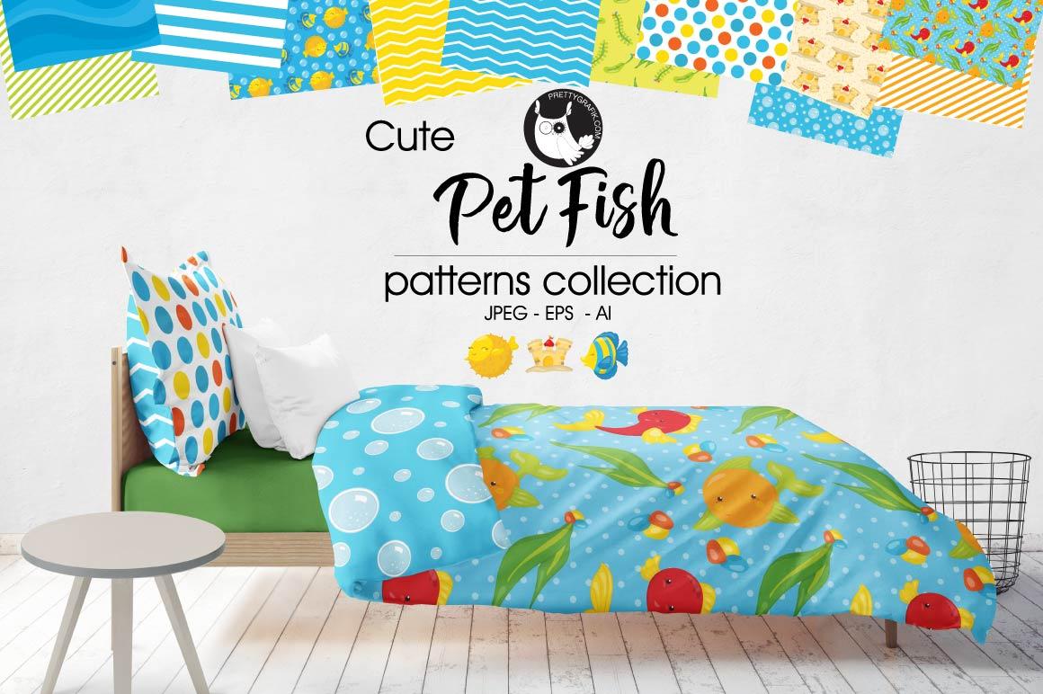PET-FISH, digital papers example image 1