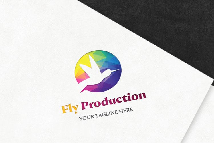 Bird Flying Logo example image 2